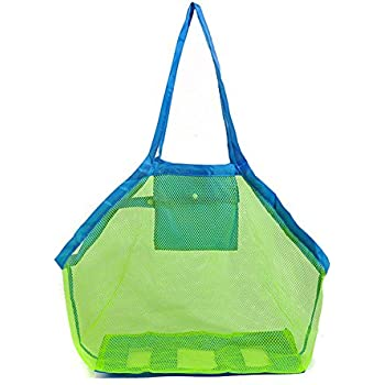 Amazon.com - Beach Bag, GP Toys Clothes Towel Mesh Organizer Beach ...