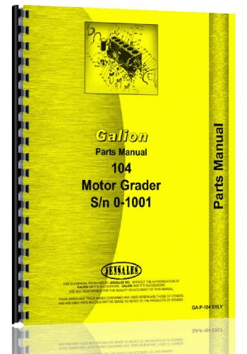 galion-104-grader-sn0-1001-chassis-only-service-manual