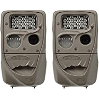 Cuddeback Moonlight 8MP Low Glo 75 Infrared Scouting Game Trail Camera, 2 Pack