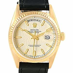 Rolex Day-Date automatic-self-wind mens Watch 18038 (Certified Pre-owned)