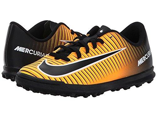 Nike JR MERCURIALX Vortex III TF Fußballschuhe Kinder, Orange, Unisex–�?Laser Orange/black-white-volt)