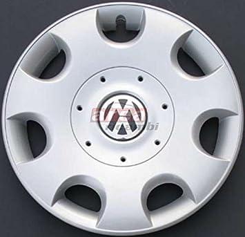 Tapacubos, 4 piezas, para Volkswagen Golf V - Caddy, diámetro 16 pulgadas: Amazon.es: Coche y moto