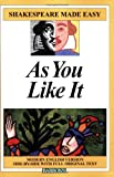 Image of As You Like It (Shakespeare Made Easy Series)