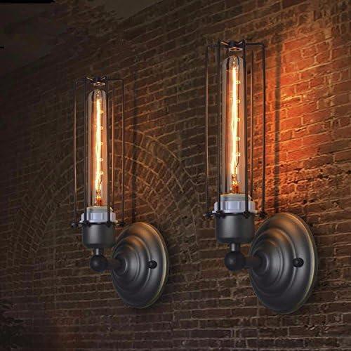 JJZHG Applique da Parete Interno Lampada da Parete Magazzino Bar Retro Country Wall Bar Magazzino 12.5cm * 30cm Include:Lampada Parete,Luci da toletta,Illuminazioni per pareti