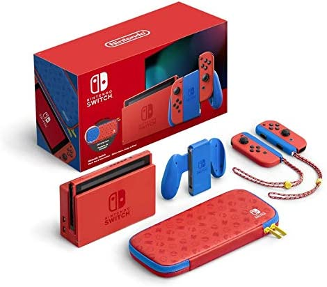 Nintendo Switch (Mario Red & Blue Edition) £299.99 PRE-ORDER @ Amazon