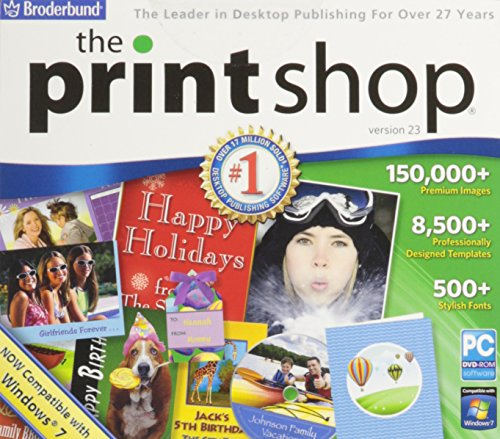 The Print Shop v.23 - Graphics Software