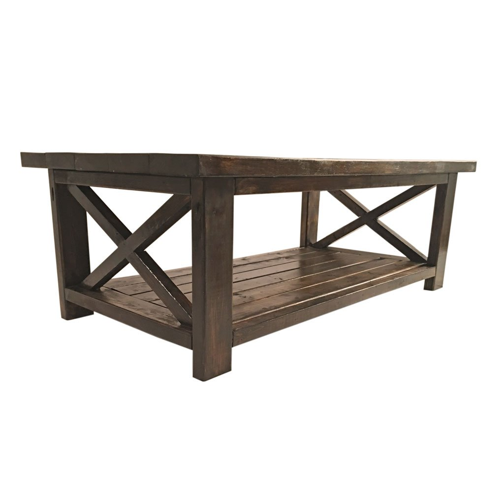 - Amazon.com: Farmhouse Coffee Table - Rustic Modern Living Room