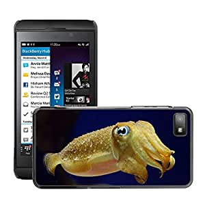 Hot Style Cell Phone PC Hard Case Cover // M00046402 underwater sea animals squid // BlackBerry Z10