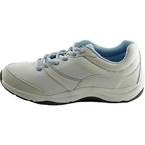 Vionic Kona ortopédico de la mujer calzado deportivo Blanco/Azul