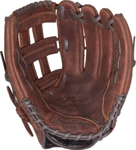 Rawlings Player Preferred Baseball Glove, Regular, Slow Pitch Pattern, Pro H Web, 13 Inch ()