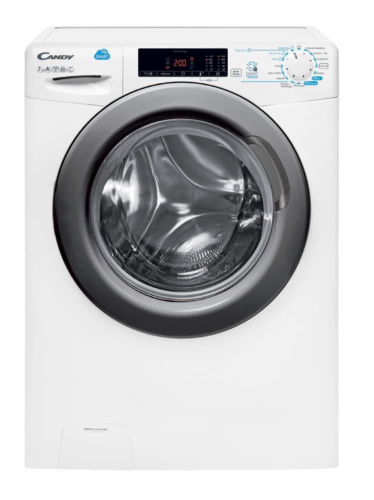 Candy css4 127t3dr/1 - 01 lavadora Slim, Color blanco: Amazon.es ...