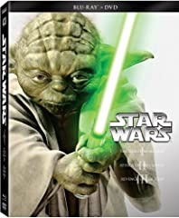 Star Wars: The Prequel Trilogy on Blu-ray+DVD Combo feature Star Wars Episodes I-III. The greatest space saga ever told begins with Star Wars: Episode I - The Phantom Menace, Star Wars: Episode II - Attack of the Clones, and Star Wars: Episod...