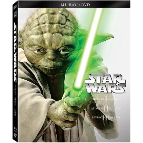 Star Wars Trilogy Episodes I-III (Blu-ray + DVD)