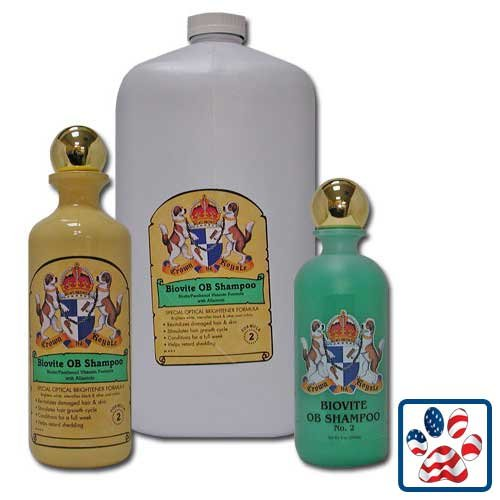 Crown Royale Biovite Formula 2 Shampoo 16oz Concentrate, My Pet Supplies