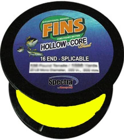 Fins Spectra 600-Yards Hollow Core Fishing Line