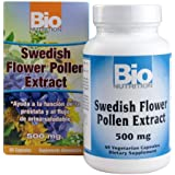 Bio Nutrition Swedish Flower Pollen Extract, 500 Mg, 60 Count