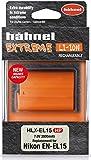 Hähnel 10001508HLX-EL15HP Extreme Li-Ion Battery for Nikon D500/D610/D750/D810/D7200, (7V, 2000mAh) Orange