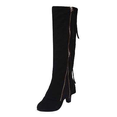 36d47ee0d095 Women High Zip Boot Fashion
