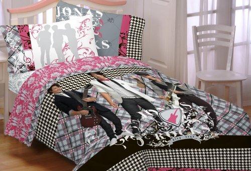 Disney Jonas Prep School Full Comforter (Comforter Set Tinkerbell Full)