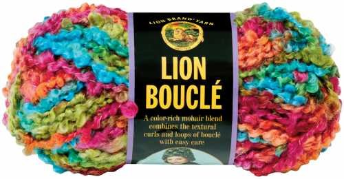 Berry Boucle - Lion Brand Boucle Yarn - Wild Berries