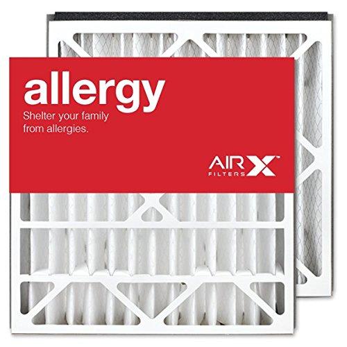 AIRx Filters Allergy 21x21.5x5 Replacement Air Filter MERV 11 for Trane BAYFTAH21M FLR06072 BAYFTAH21M2, 2-Pack