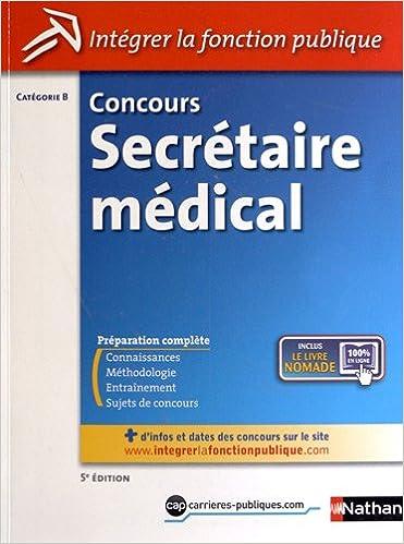 Lire en ligne Concours secrétaire médical pdf