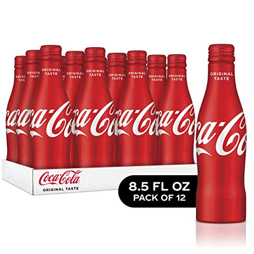 Coca-Cola Soda Soft Drink, 8.5 fl oz, 12 Pack (Mini Coca Cola Glass)