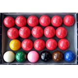 Iszy Billiard Snooker Ball Set, 2 1/16-Inch, Pack of 22