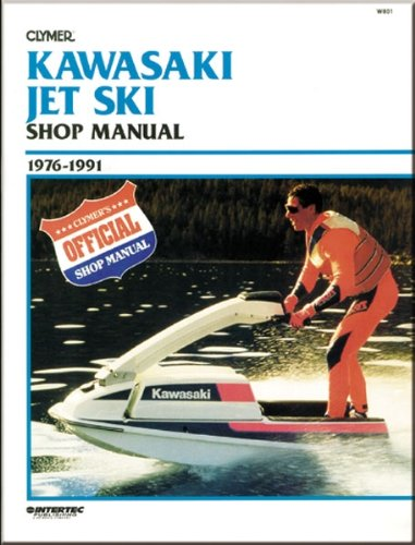 amazon com: clymer manuals - kawasaki jet ski sport manual w801: automotive