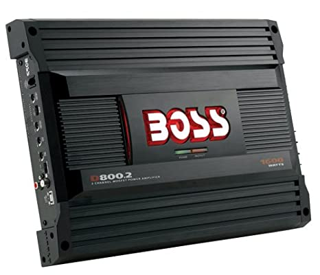 Amazon.com: Boss Audio D800.2 Diablo 2-Channel Mosfet Bridgeable Power Amplifier: Car Electronics