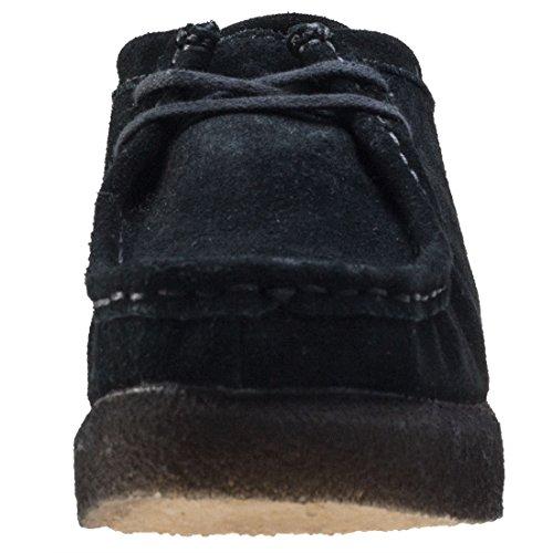 Clarks Mujer Negro Peggy Bee Zapatos Negro