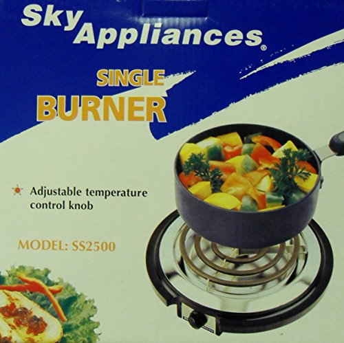 SKY SS2500 Single Burner 220Volts Not for USE in the USA