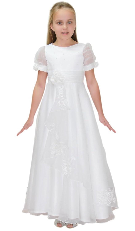 hochzeits-shop-hamburg Girls' A-Line Dress White white