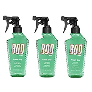 Bod Man Mens Body Spray Fresh Guy Pack of 3