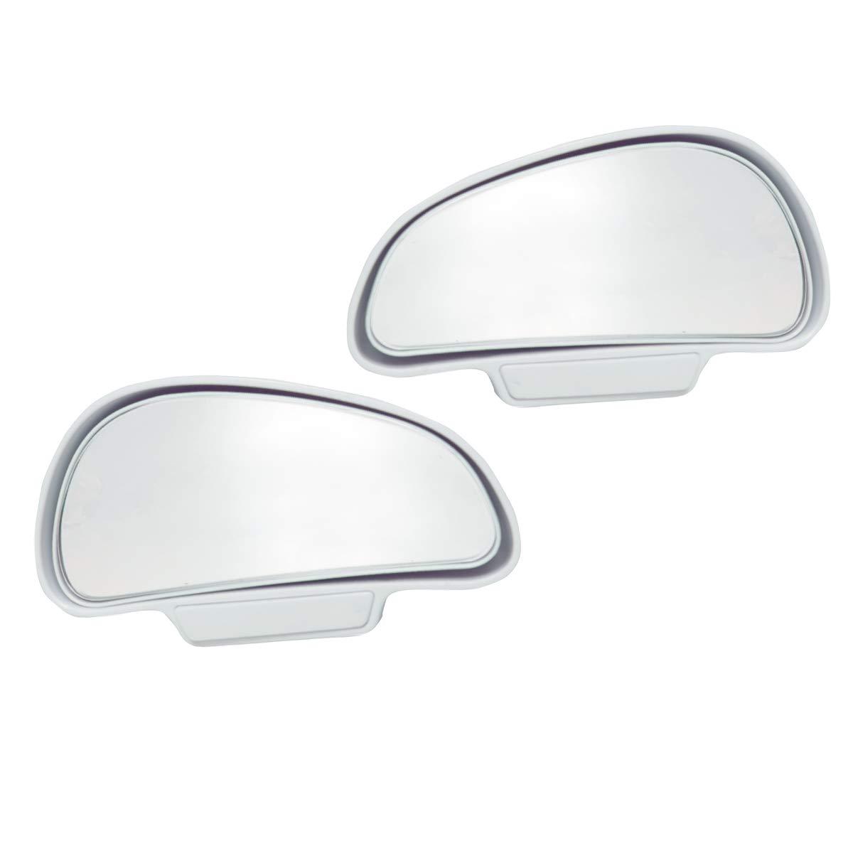 WildAuto Miroir Dangle Mort R/étroviseurs Dangle Ext/érieur Mort Universel Pour Tous Les Voitures Miroir Convexe 2 Pcs/ Auxiliaire R/étroviseur Type D-2pcs