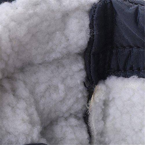Casual Gracosy Foderato Grigie Pelliccia Donna Stivali Neve Slip Stivaletti Impermeabili Caldi Da All'aperto Di Scarpe Inverno On rq8rWcPR
