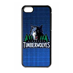 iPhone 5c Cell Phone Case Black Minnesota Timberwolves V8411775