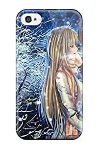 Snap-on Anime Boy Case Cover Skin Compatible With Iphone 4/4s
