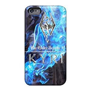 Anti-Scratch Hard Phone Cases For Apple Iphone 6 Plus With Support Your Personal Customized Beautiful Skyrim Skin AlainTanielian