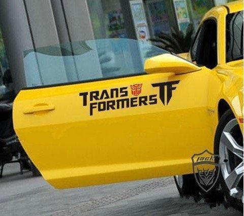 Transformers Side Door Decal Car Sticker, Set of 2
