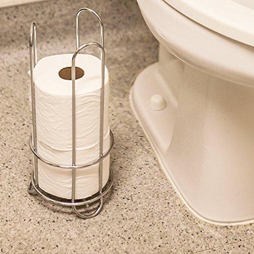 Huji Chrome Finish Modern Design Toilet Paper Roll