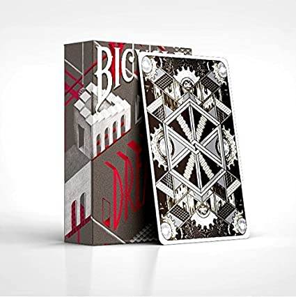Bicycle Grid 2.0 Blue /& Red Limited Edition Ultraviolet Light Playing Cards Set