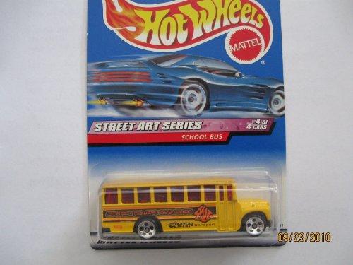 Hot Wheels Yellow School Bus 1999 Street Art Series #952