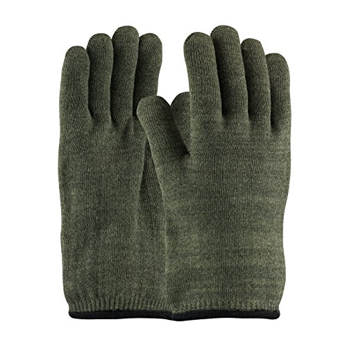 Hot Mill Knit (Kevlar / Preox Seamless Knit Hot Mill Glove with Cotton Liner - 32 oz 43-850L, (24))