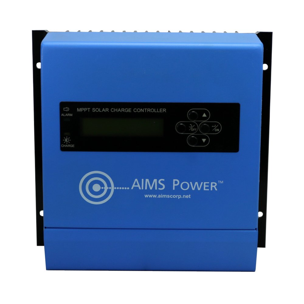 Aims Power SCC30AMPPT Solar Charge Controller, 30 Amp 12/24V