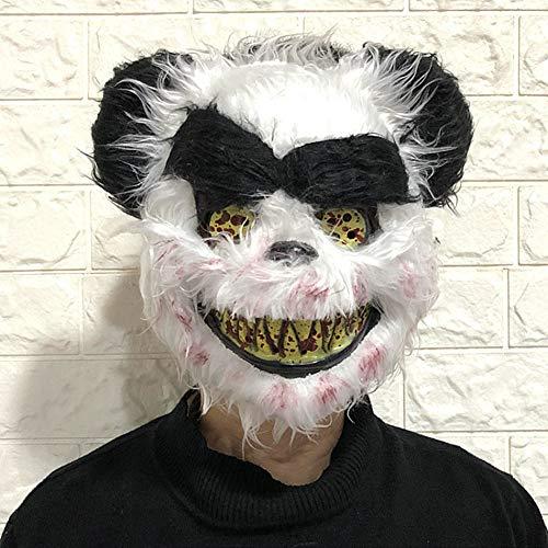 Smartcoco Horror Halloween Bloody Bunny Mask Plush Rabbit