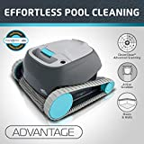 Dolphin Advantage Automatic Robotic Swimming Pool Cleaner with Large Capacity Top Load Filter Basket Ideal for Inground Swimming Pools Up to 33 Feet