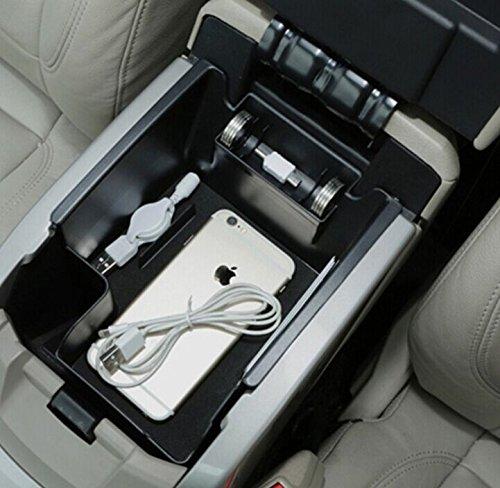 Car Center Console Tray Armrest Secondary Storage Box Glove Pallet