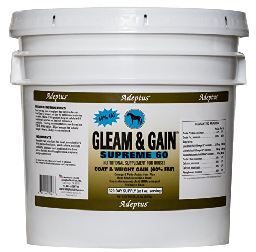 Adeptus Nutrition Gleam and Gain Supreme 60 EQ Joint Supplements, 20 lb./12 x 12 x 12'' by Adeptus Nutrition