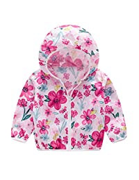 Seipe Little Boys Girls Summer Sun-Proof Jacket Ultra-Thin UV Protective Hooded Coat